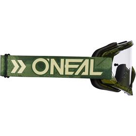 O'Neal B-10 Goggles camo-military green/clear